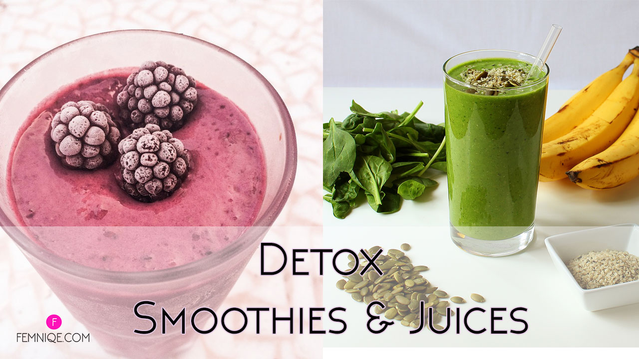 The Healthy Girl's Guide To Detox Smoothie Recipes