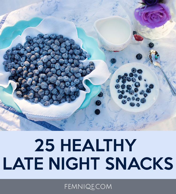 Healthy low calorie late night snacks