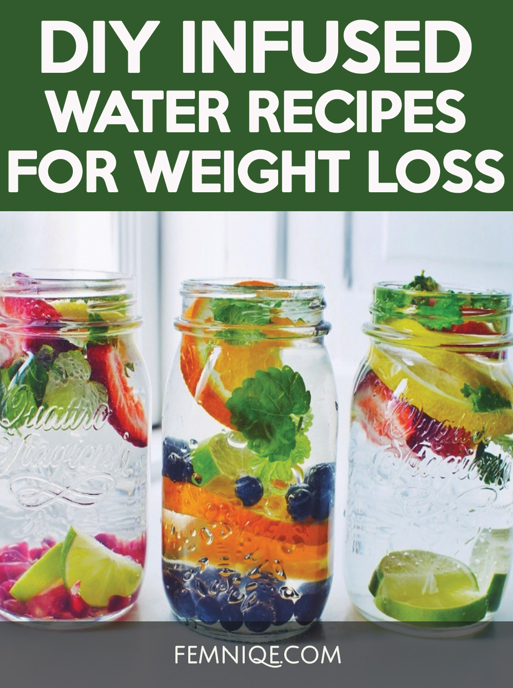 Get in your daily water quota with this Fruit-Infused Water – 6 ways! From berries, to citrus, to cucumber and herbs, we've got you covered for refreshing drink recipes all summer long!