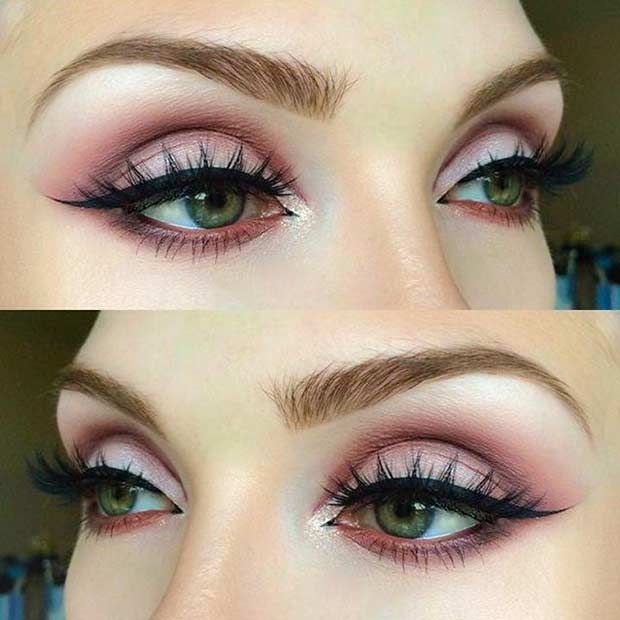Beautiful Makeup Looks For Green Eyes