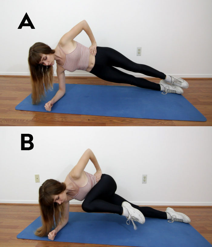 crunches vs plank exercises This exercise targets the transverse abdominis (tva) and the obliques start in a high plank position the first portion of this exercise is all about stabilizing the spine and hips.