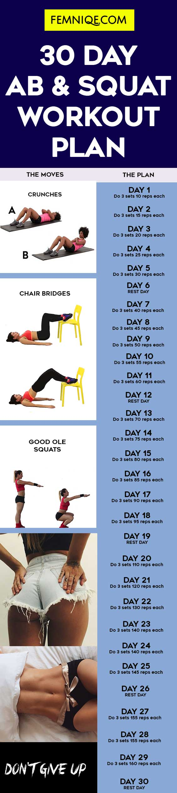 30-Day Abs and Butt Challenge pictures