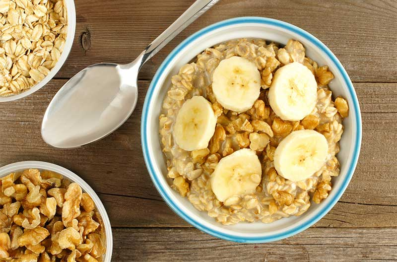 Cinnamon Banana-Overnight-Oats