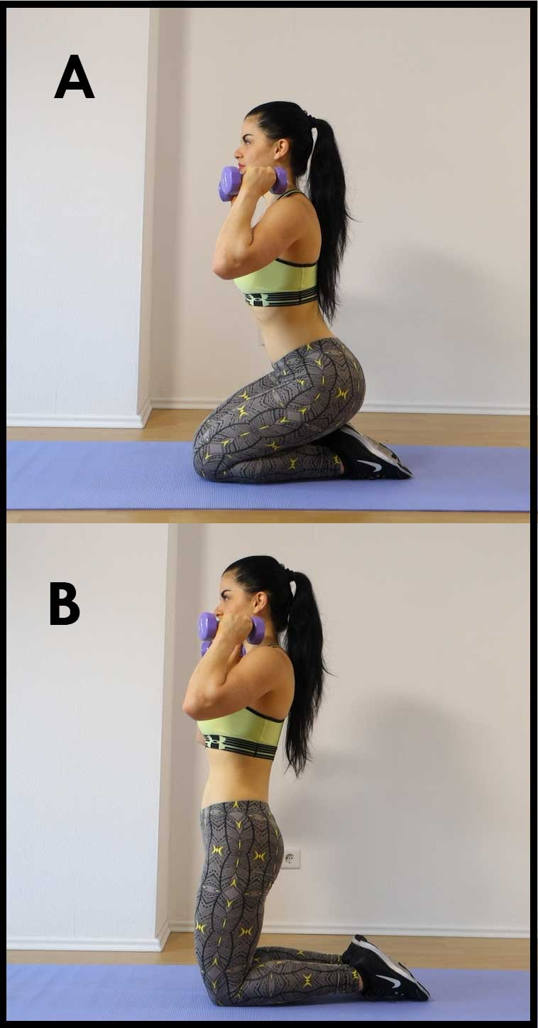 upper Glutes workout