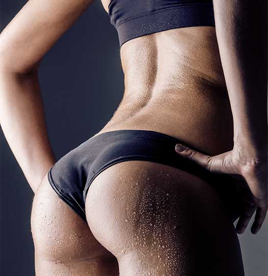 how to work my glutes