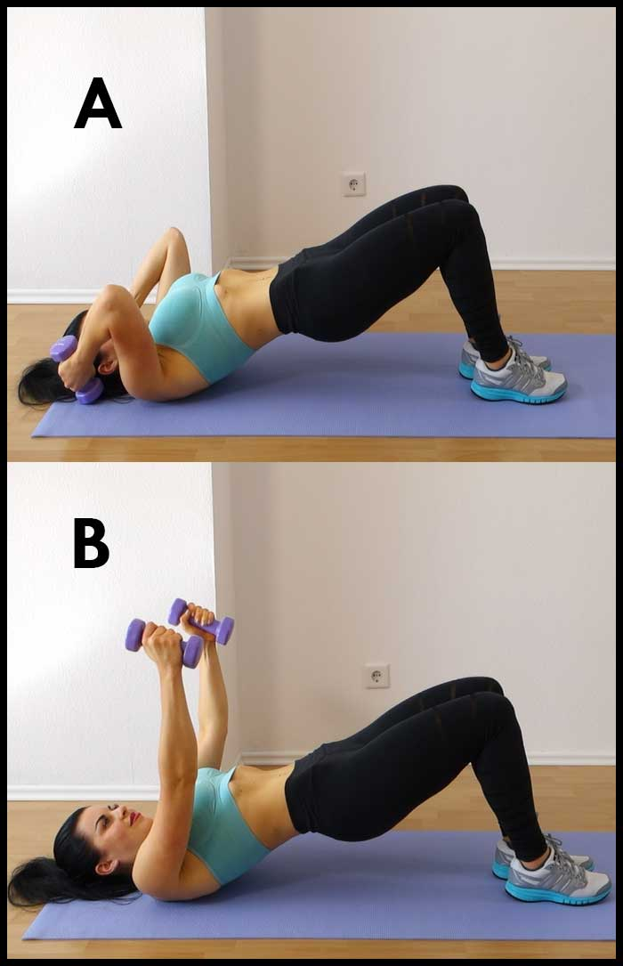 Bridge Tricep Extension