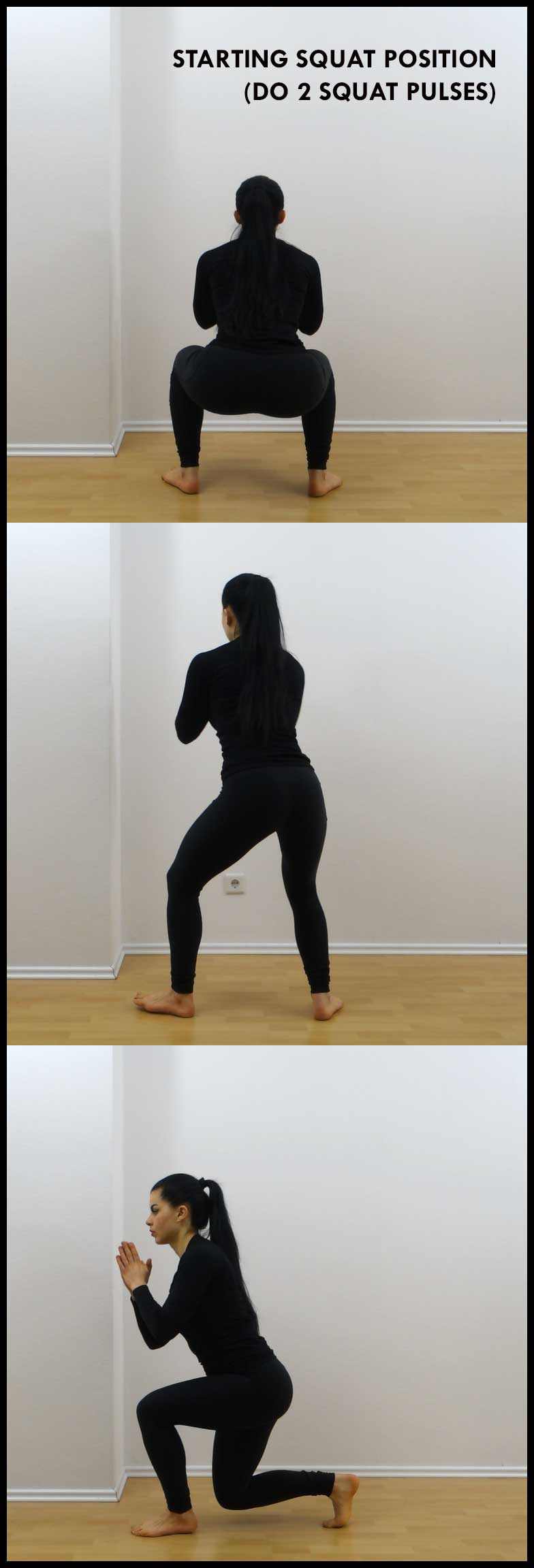 DOUBLE SQUAT TWIST