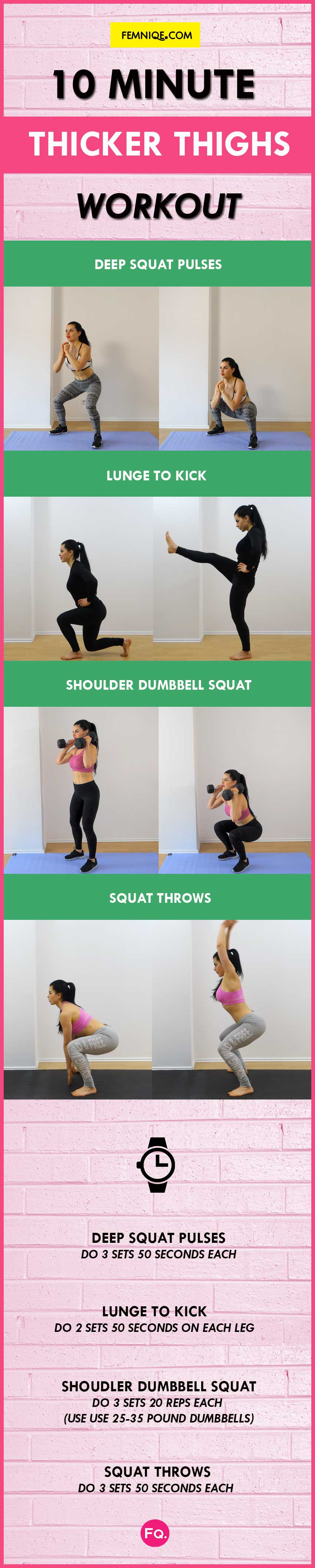 bigger thigh workout challenge