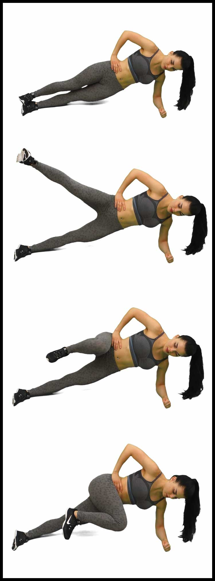SIDE PLANK DOUBLE TWISTS