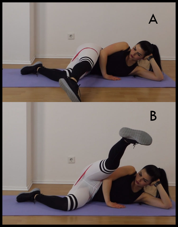 Clam Extended Leg Lift