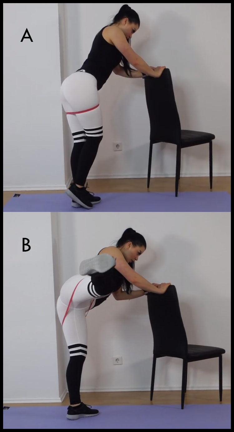 side Leg Lift for glute activator
