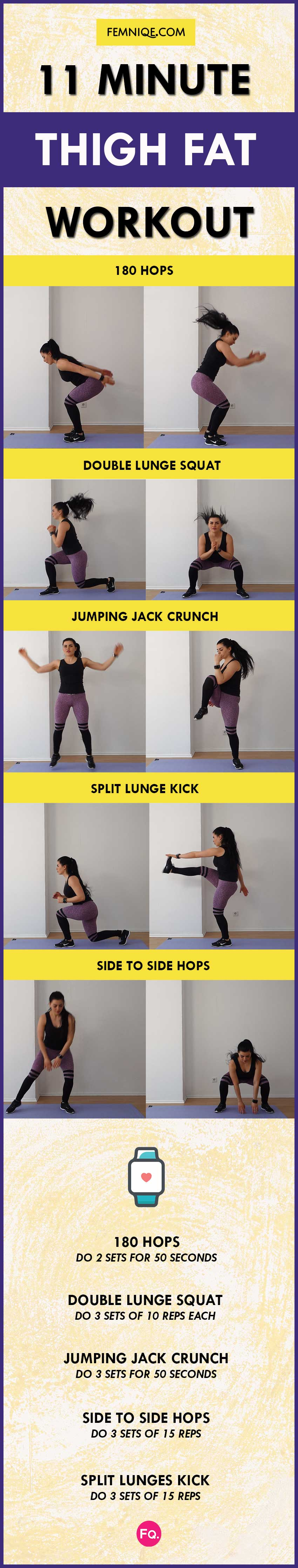 INNER & OUTER THIGH FAT WORKOUT
