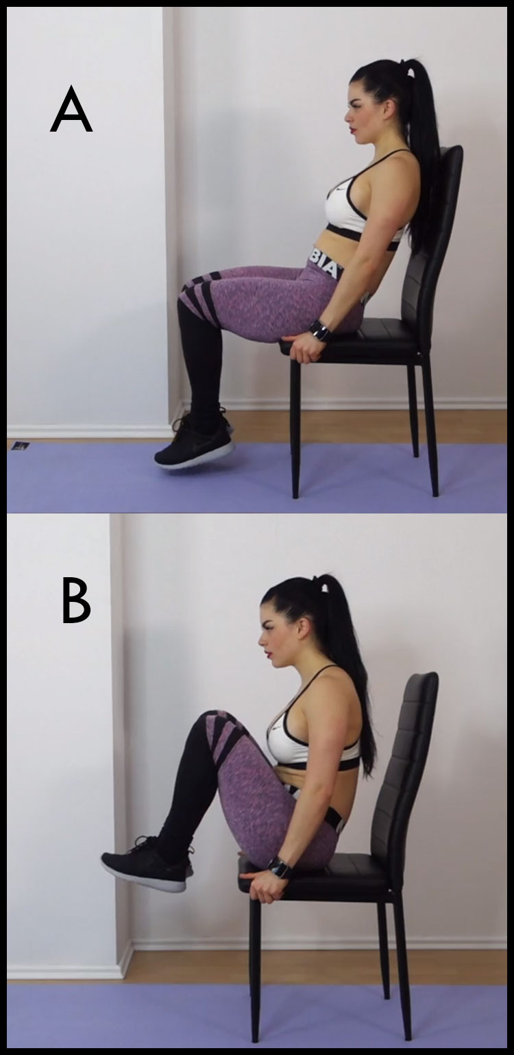 CHAIR EXERCISE FOR BELLY FAT