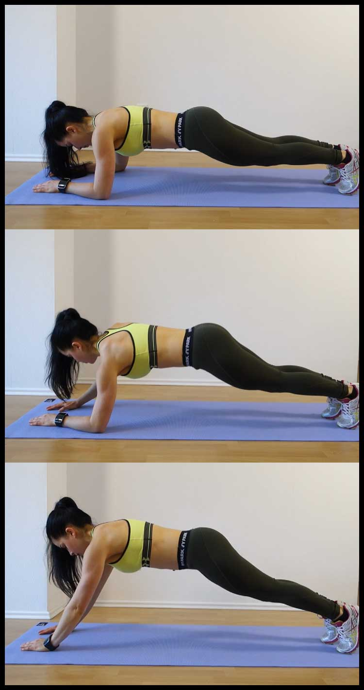 plank exercise images