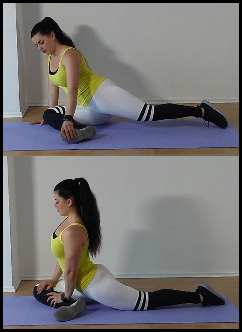 glute stretching exercise