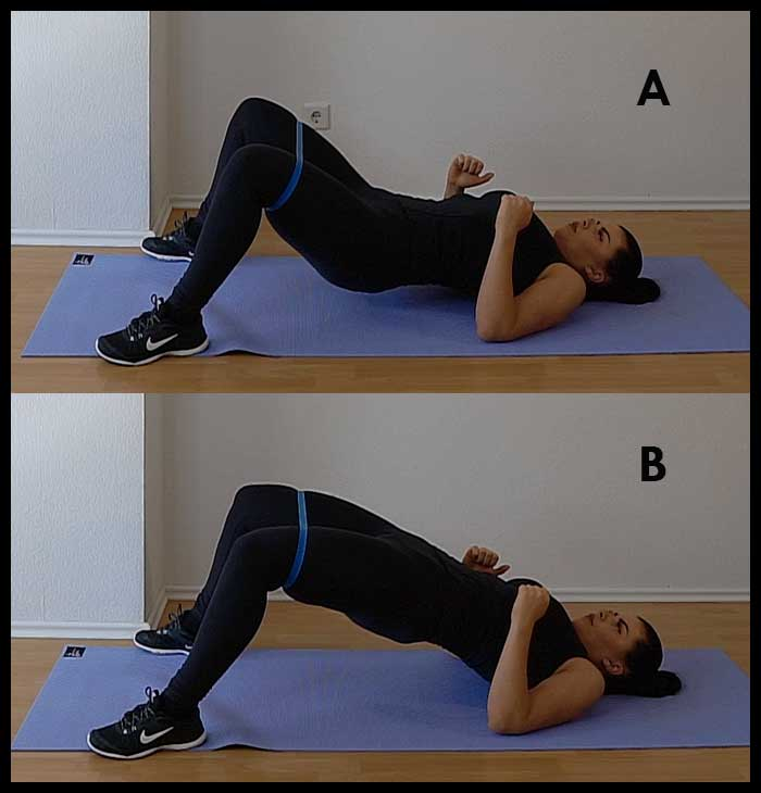 Glute Isolation Exercises at home