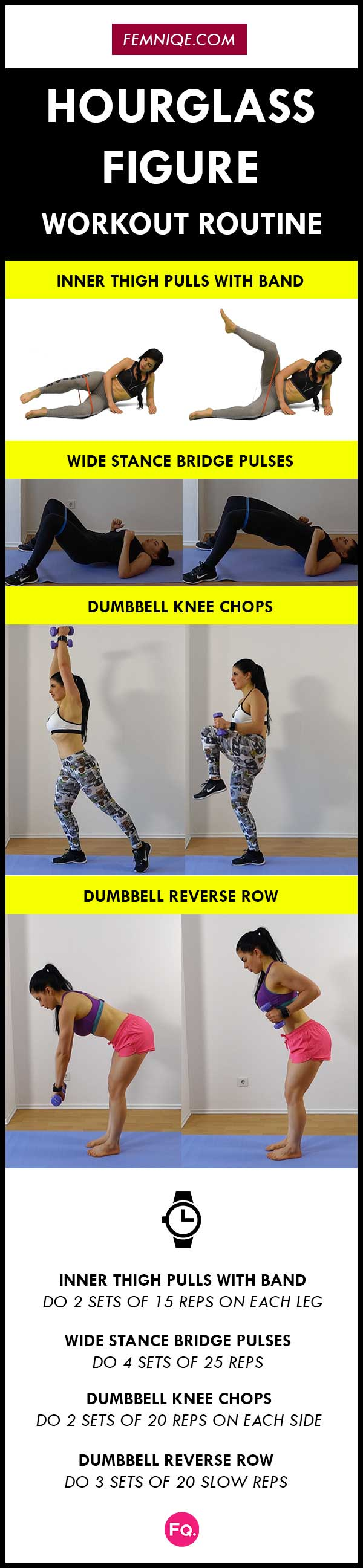 Hourglass workout plan gym