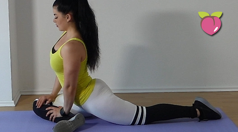 how to get a bigger butt challenge at home